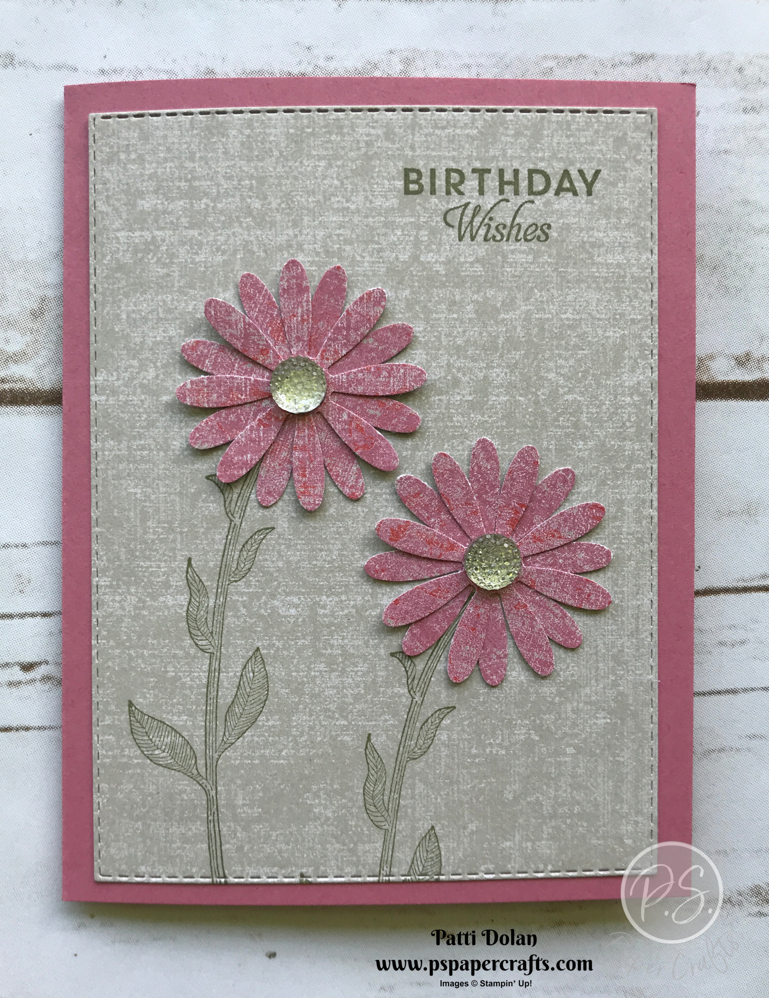 Daisy Lane Woven Threads Card birthday.jpg