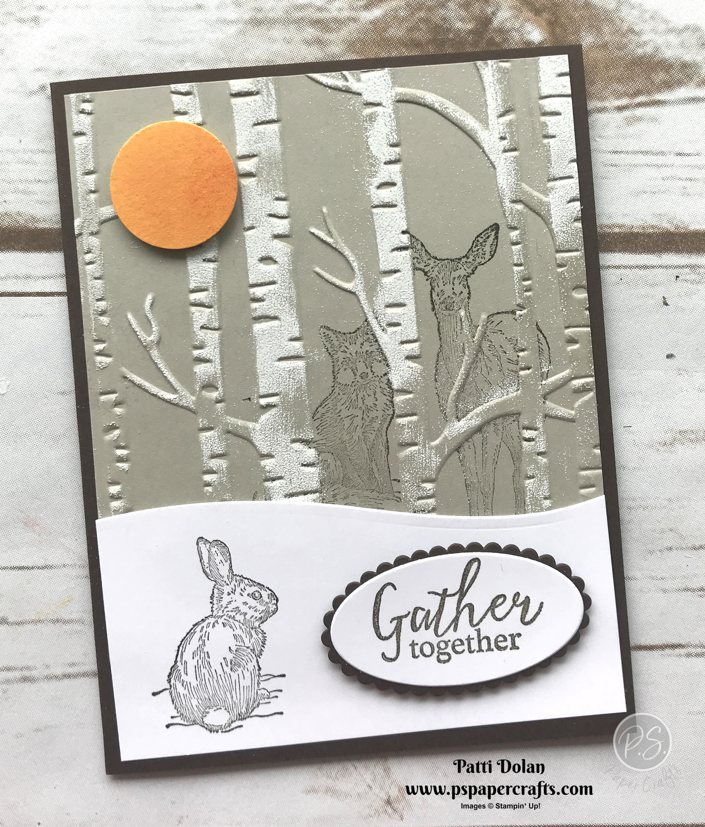 Nature's Beauty - Stamping On Embossing Folder card.jpg