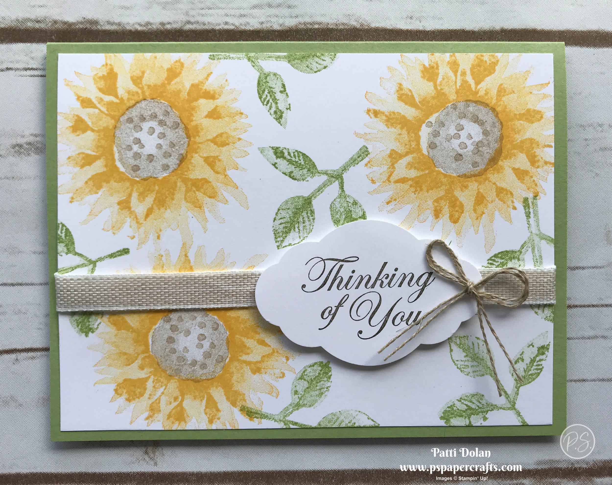 Painted Harvest Sunflower Card2.jpg