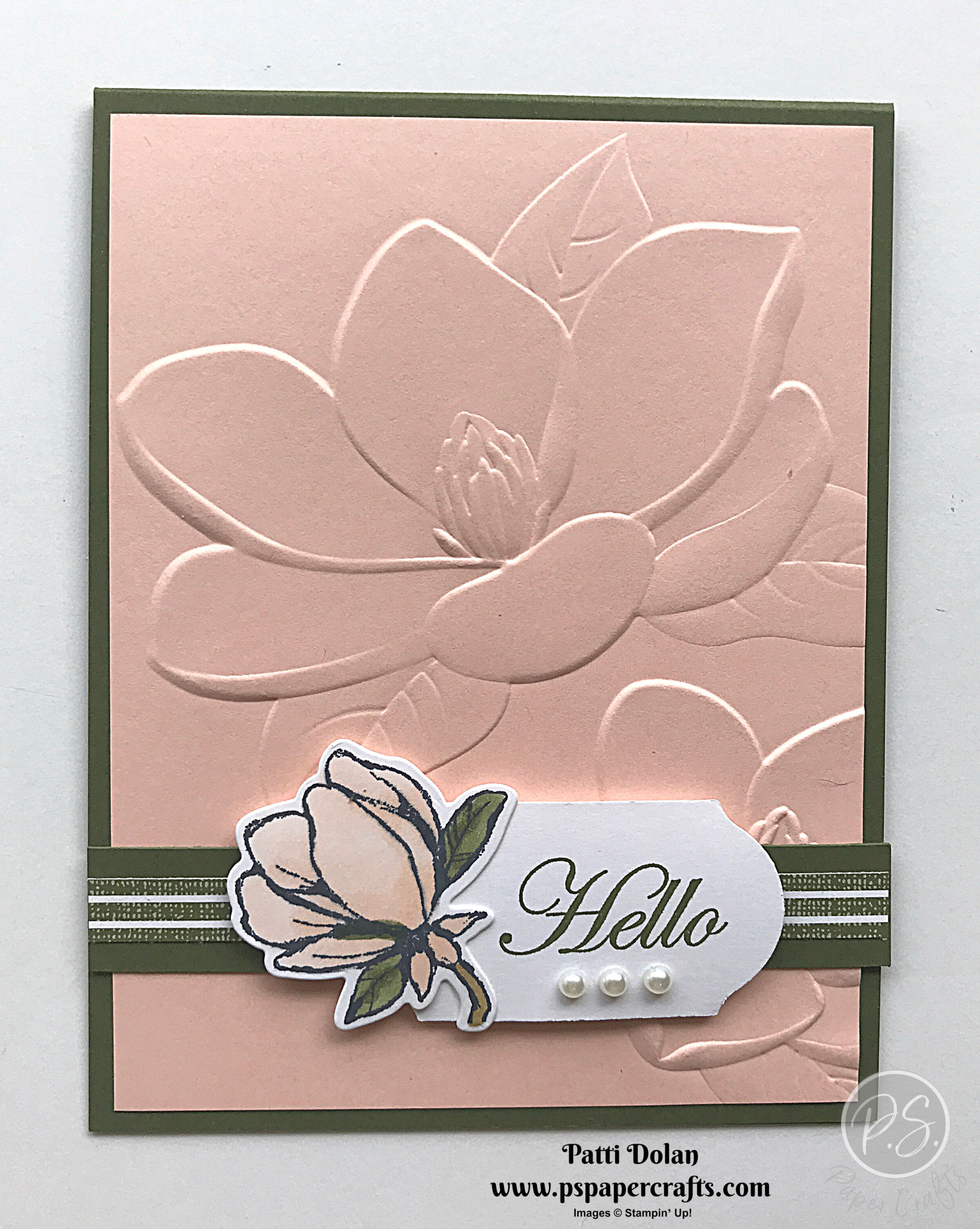 Beautiful Embossed Magnolia Card.jpg