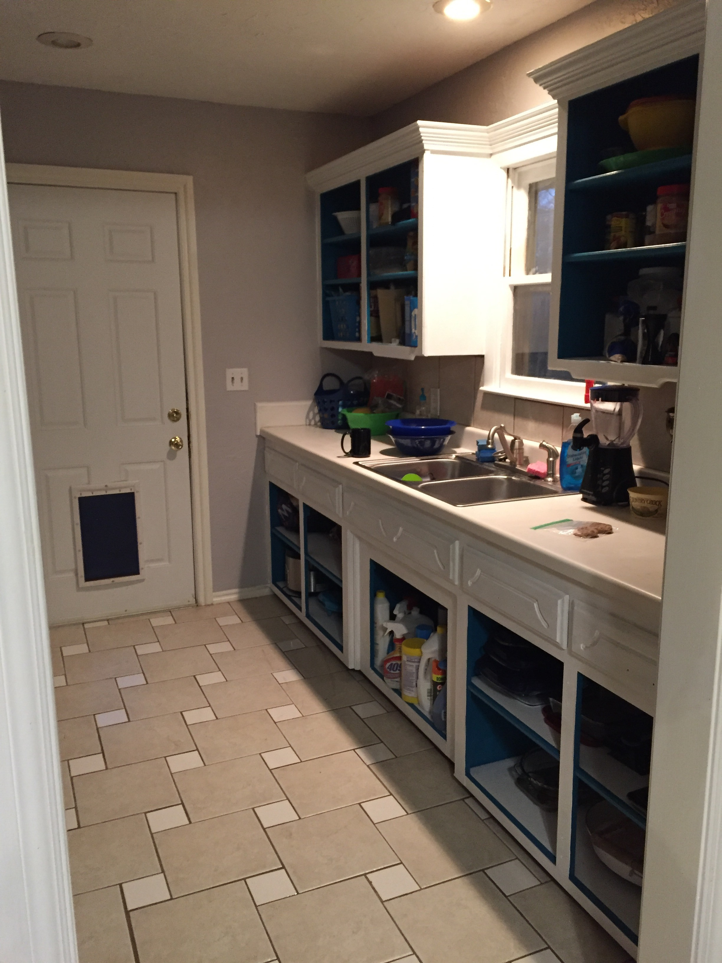 The other side of the kitchen