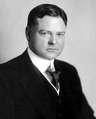 Herbert Hoover, aged 30s