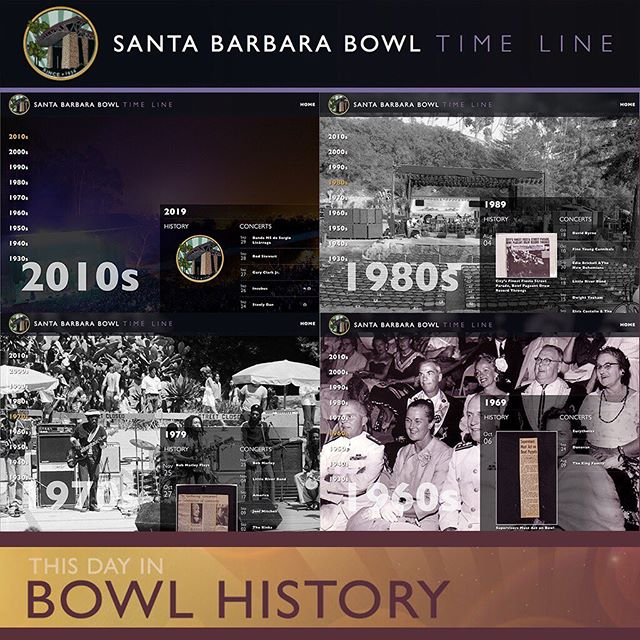 In order to showcase the @sbbowl's unique history, Oniracom traced content back to 1934, and used it to create an engaging desktop experience. Jump through time to find your favorite shows, learn about the Bowl's inspiring history, and find out which artist played the Bowl's ocean-view stage more than any other! sbbowl.com/timeline