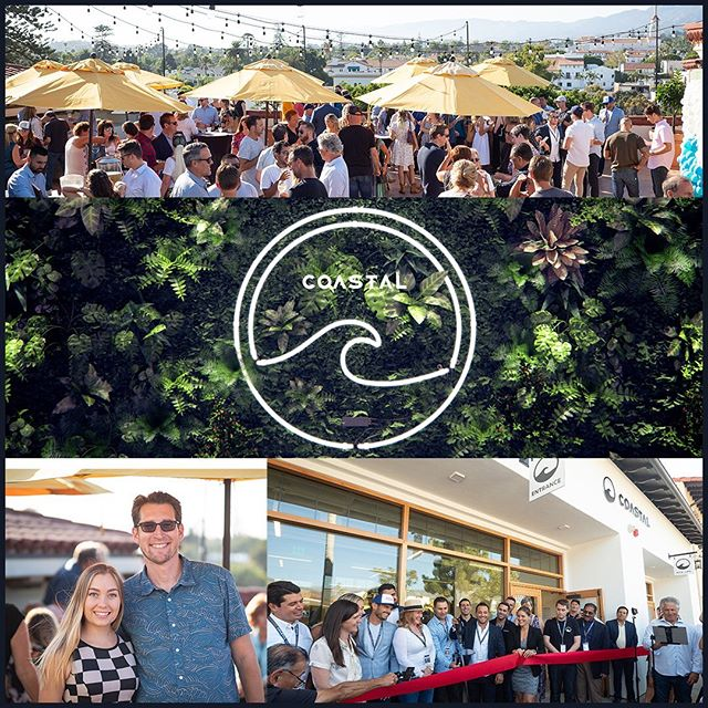 Oniracom was proud to show support at @coastal.ca grand opening event! Local, regional and industry leaders showed up to celebrate the one of the first premier luxury cannabis dispensary opening in downtown Santa Barbara. Oniracom has been working alongside these industry leaders and with the @cannabisbusinesscouncilsb (CBCSB) which currently serves as the leading voice of cannabis farmers and business owners in the Santa Barbara region. We're committed to working with the community and CBCSB to achieve smart, fair regulations that honor Santa Barbara's agricultural history, support good jobs and economic development, and promote public safety and compliance with the law. Read more at oniracom.com/blog (link in bio)