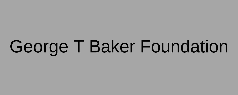 George T Baker Foundation.png