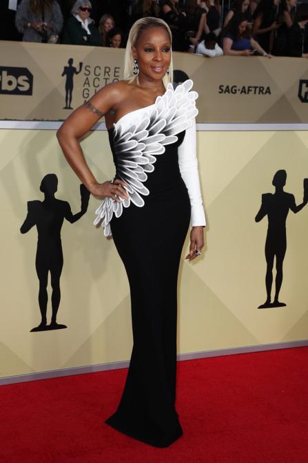 Mary J. Blige in Jean-Louis Sabaji