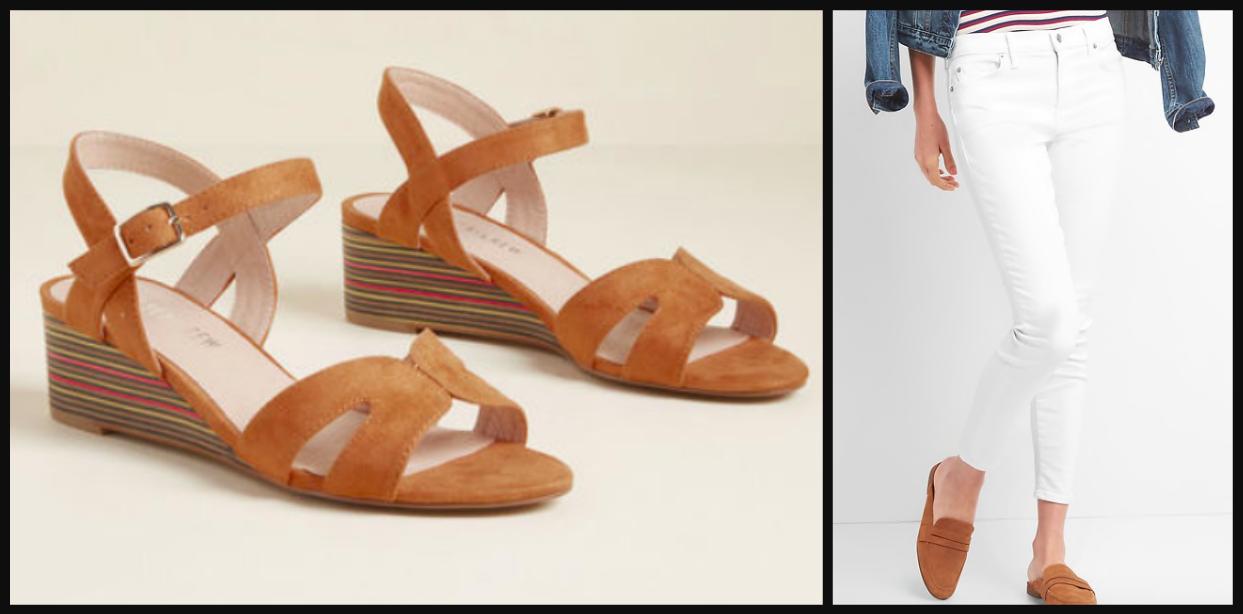 Shoes $79  /  Pants $22