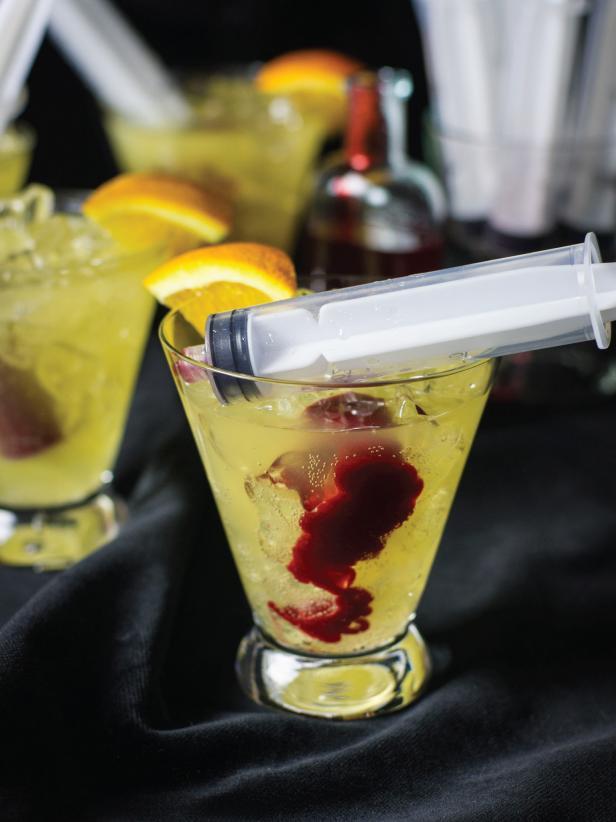 Bloody Orange Cocktail