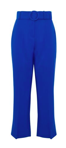 Belted Flare Pants by Walter Baker