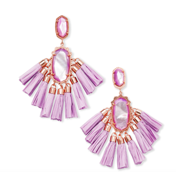 Lilac Mother Of Pearl by Kendra Scott