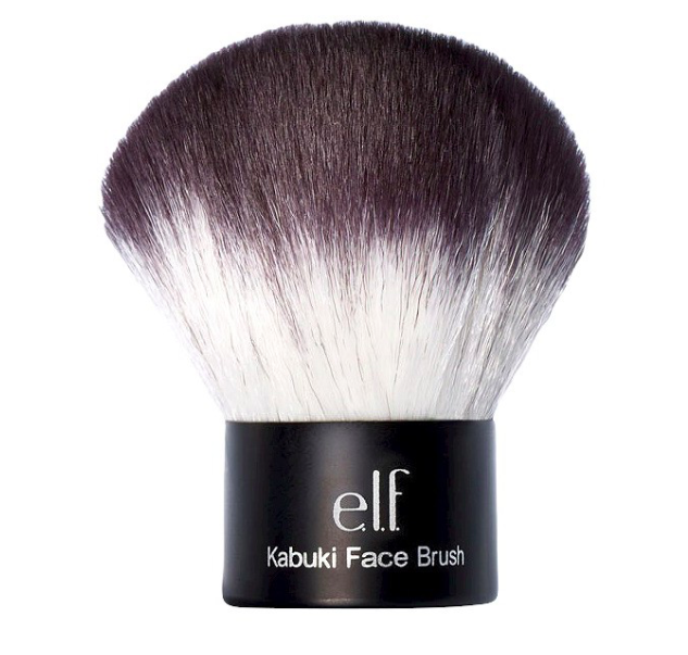 elf kabuki face brush  $5
