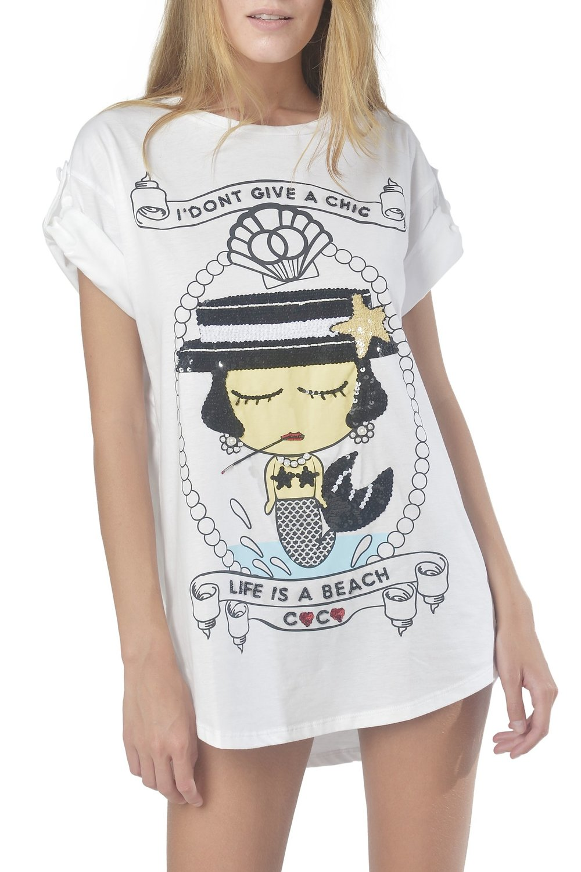 Maxi Coco Mermaid T-Shirt