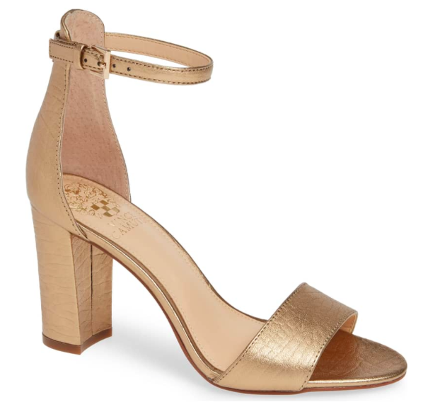Corlina Ankle Strap Sandal by Vince Camuto