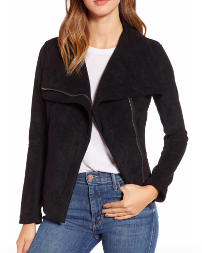 Legendary Faux Suede Jacket