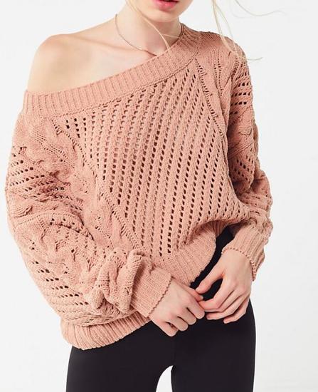 UO Rosie Oversized Plush Knit Sweater