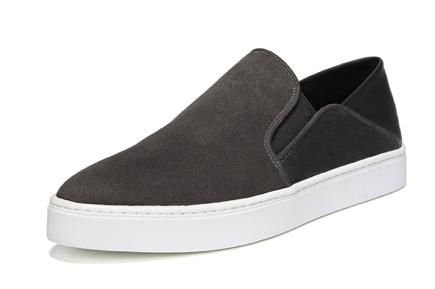 Garvey Suede Slip-On Sneakers