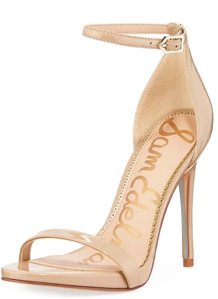 Sam Edelman Ariella Patent Strappy Sandals