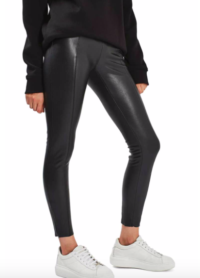 Percy Faux Leather Skinny Pants