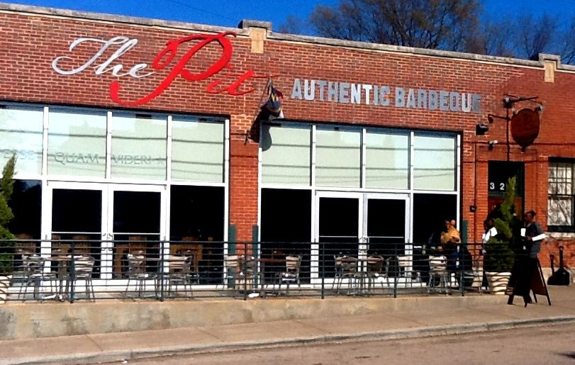 The Pit Authentic Barbecue, Raleigh NC via  Pinterest