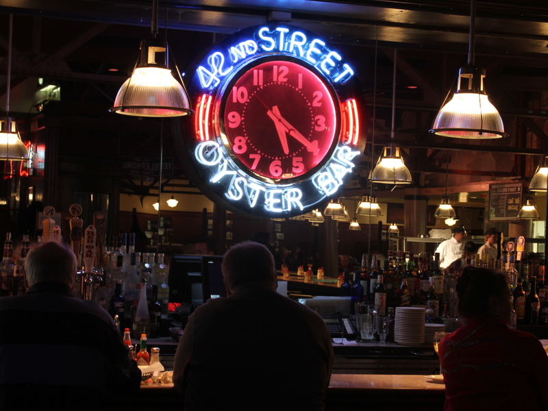 42nd Street Oyster Bar, Raleigh NC via  Triangle Downtowner