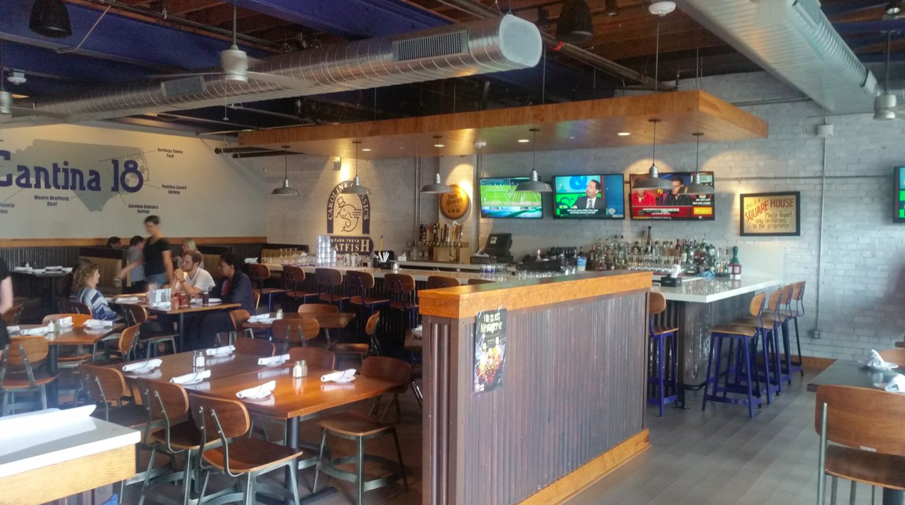 Cantina 18, Raleigh NC via  18 Restaurant Group