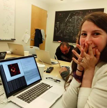 Katie Bouman, the 29-year-old scientist who helped make the world's first black hole image via  CBS News
