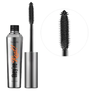 They're Real! Lenghening & Volumizing Mascara by Benefit  $25