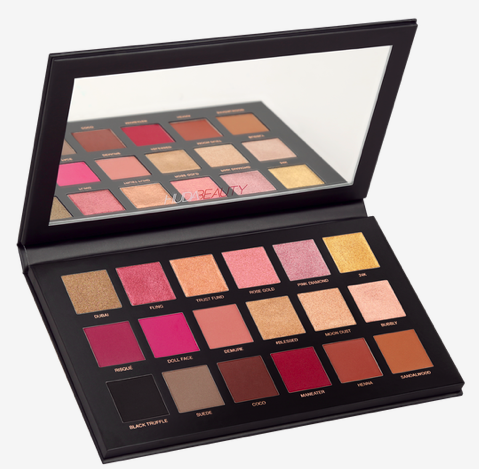 Rose Gold Palette Remastered by Huda  $65