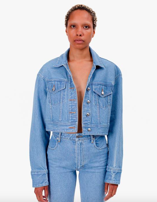 Cropped Denim Jacket ($390)