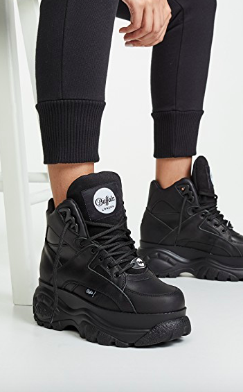 Buffalo London Classic Kicks High Top Sneakers  $224