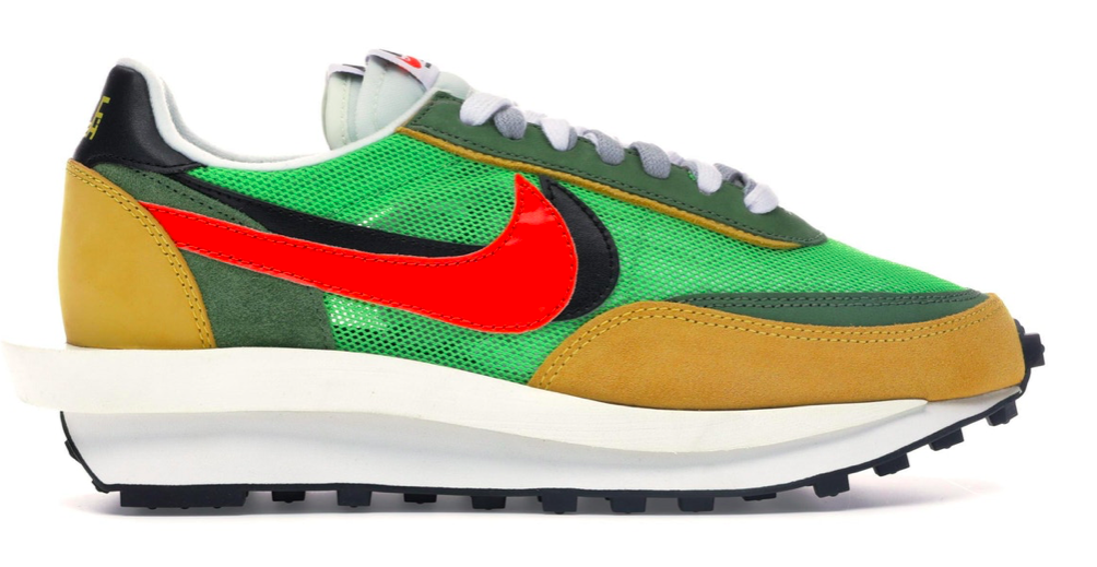 Nike LD Waffle Sacai Green Multi via  Stock