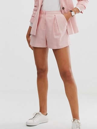 Linen A-line Shorts ($32)