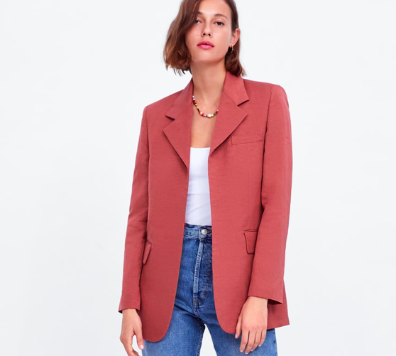 Jacket With Flap Pockets ($149)
