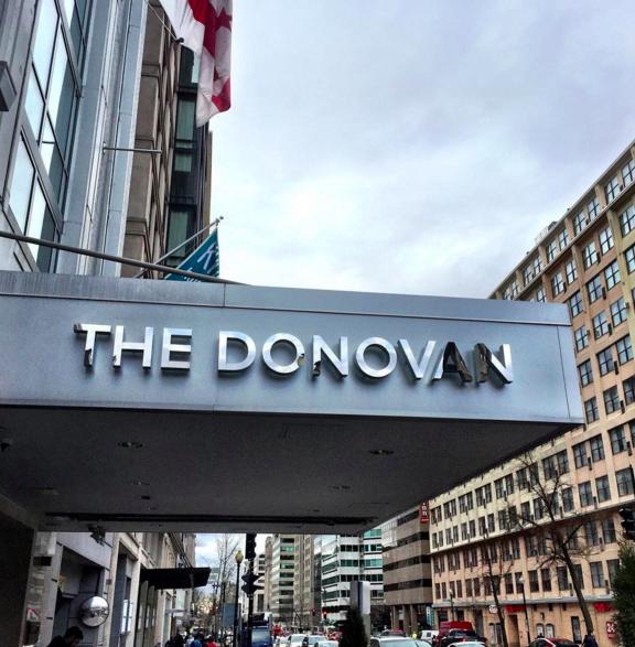 Kimpton Donovan Hotel via  Facebook