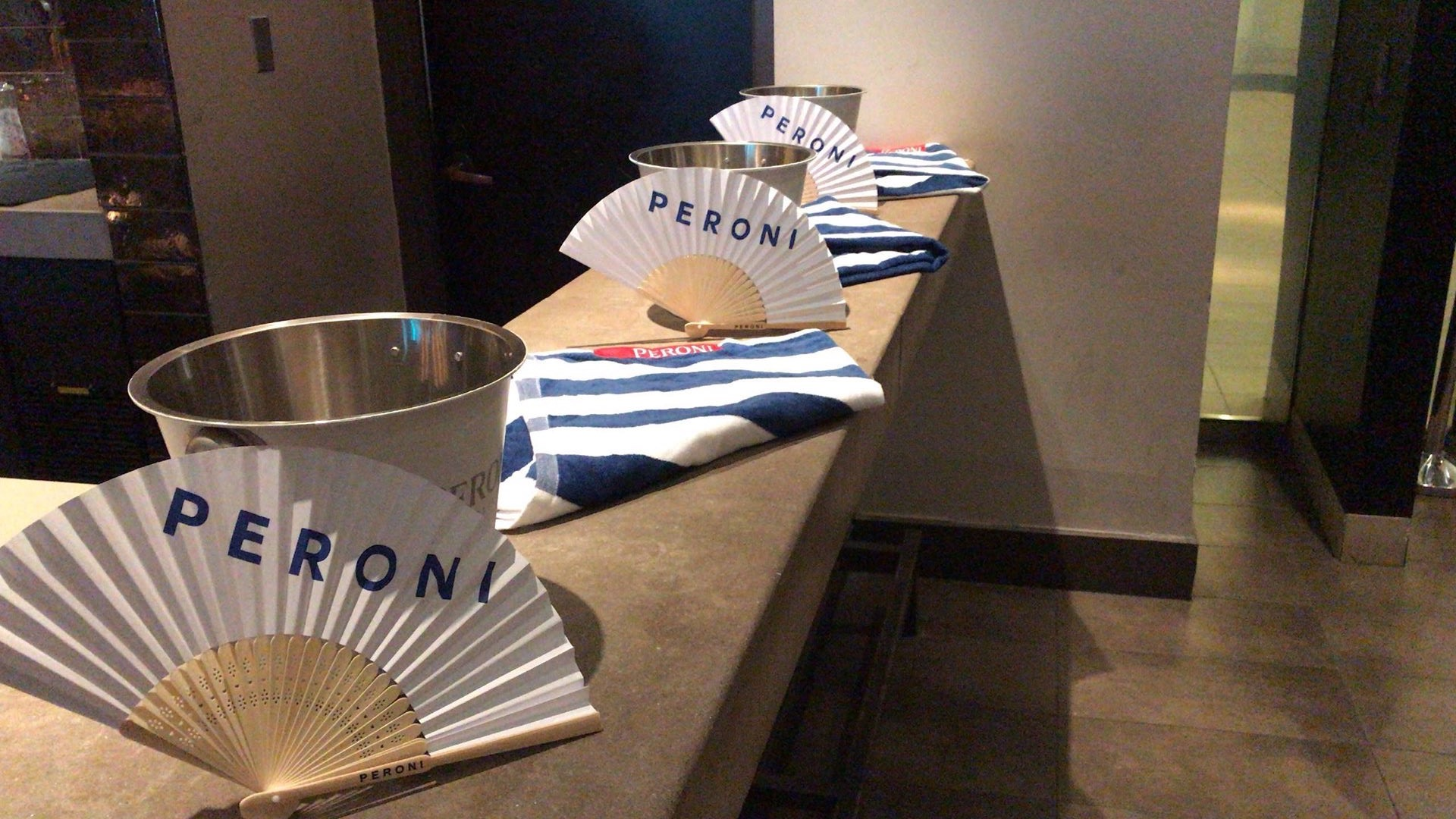 Peroni  sponsored the Preview show, and needless to say it was FAB!