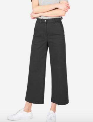 The Wide Leg Crop Pant ($68)