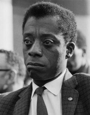 James Baldwin via  African American Literature Book Club