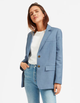 The Cotton-Linen Blazer  $145