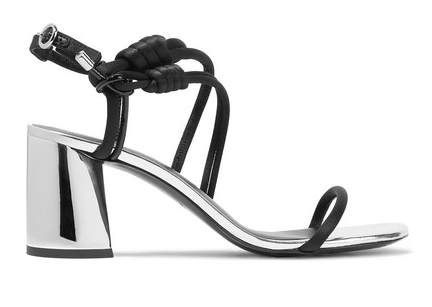 Drum knotted sandals by Phillip Lim