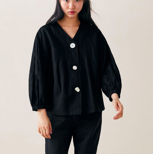 Zara Blouse with Buttons $29