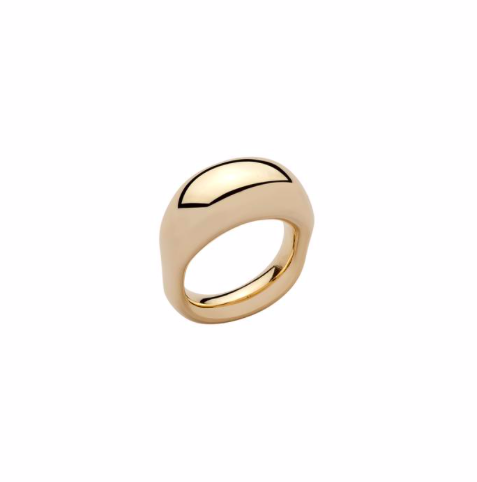 Tube Pinky Ring $195
