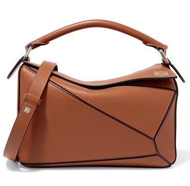 Loewe Puzzle small textured-leather shoulder bag  $2150