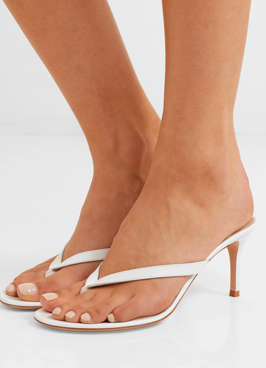This one comes in every color you'd need for summer Gianvito Rossi Calypso 70 leather sandals  $695