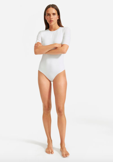 Slip on with literally any bottom in your closet and you're set. I think I will need to stock up on these for fall as well. via Everlane  $32