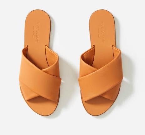 Hello elevated leather sandals. via Everlane  $88