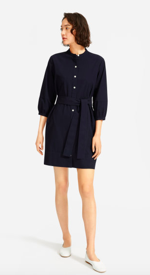 I obviously cant get enough of summer dresses. Via Everlane  $78