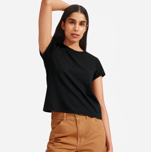 Speaking of what we all need. The perfect t-shirt in a relaxed fit. via Everlane  $18