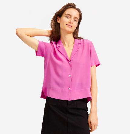 Dress it up or down, this top does it all. via Everlane  $98