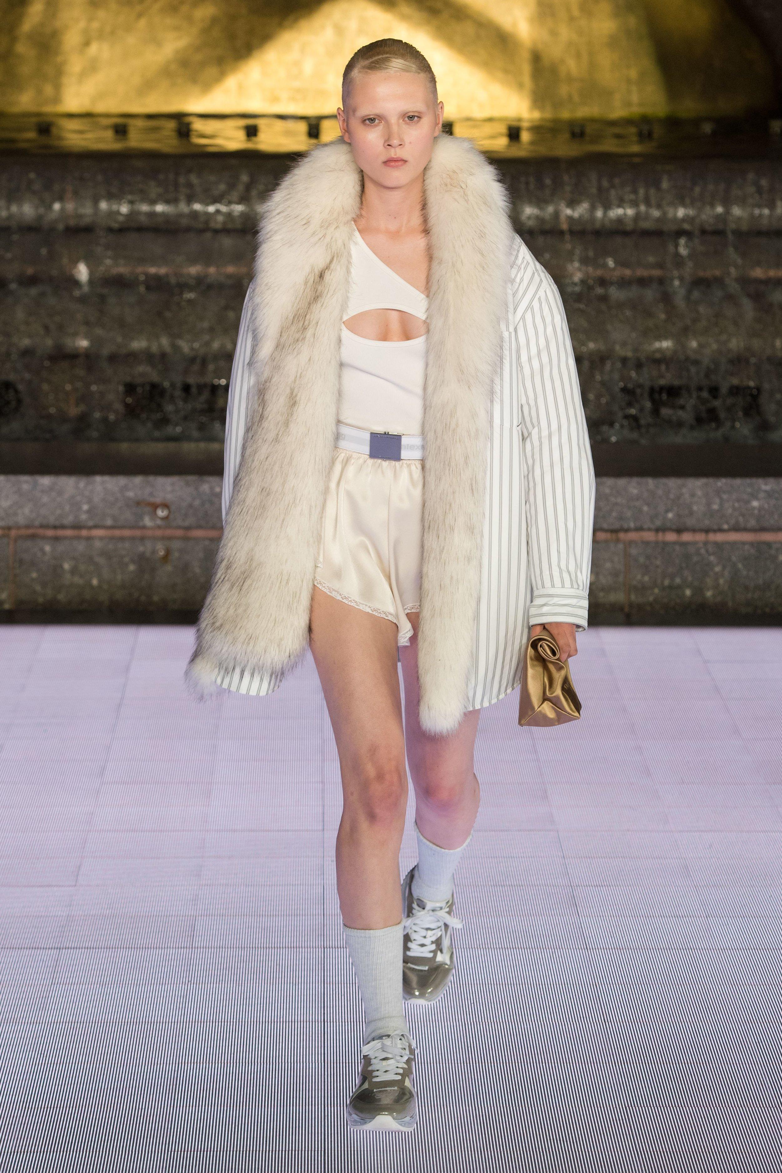 Alexander Wang Spring 2020 via  Vogue