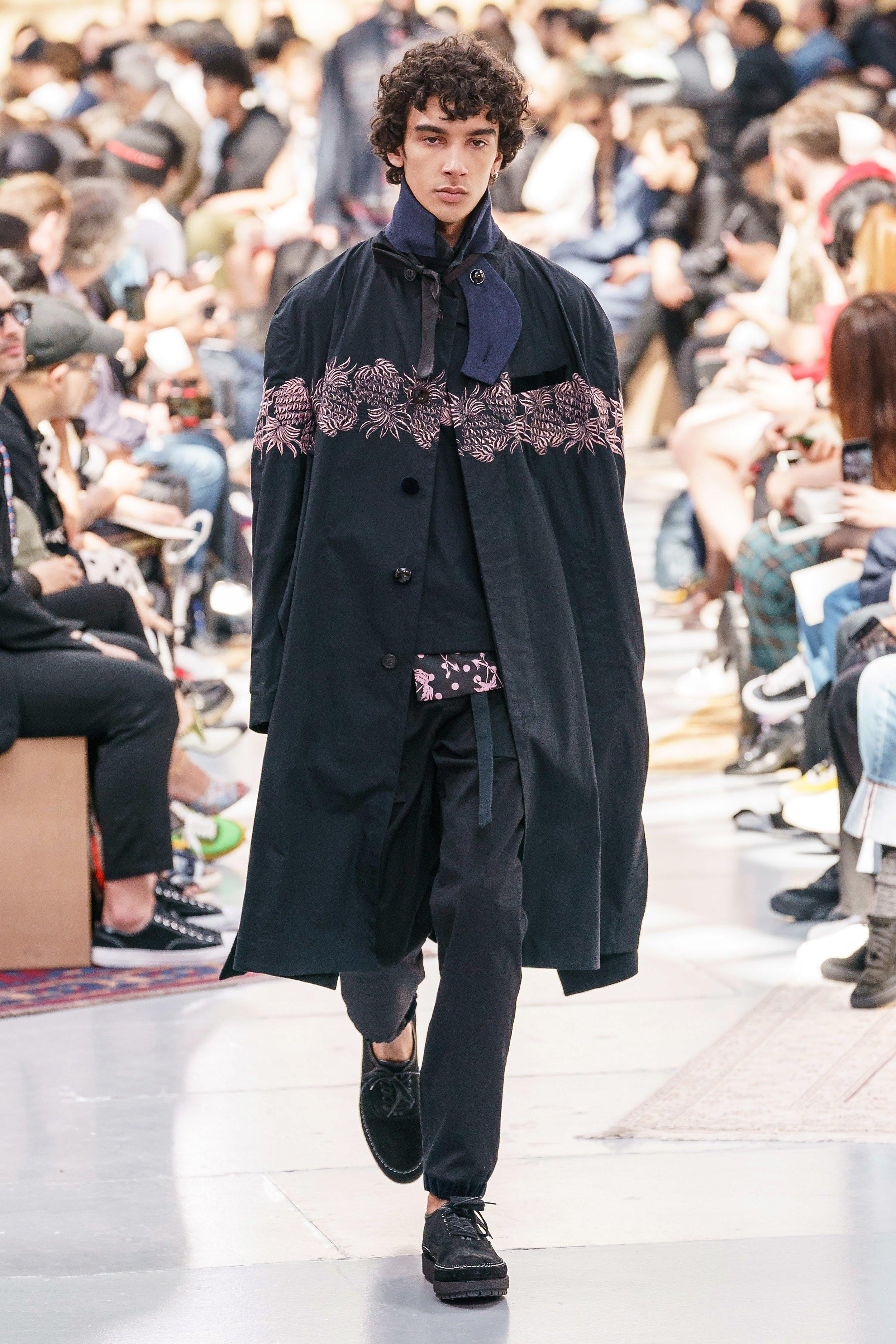 Sacai Spring 2020 Mens - via  Vogue